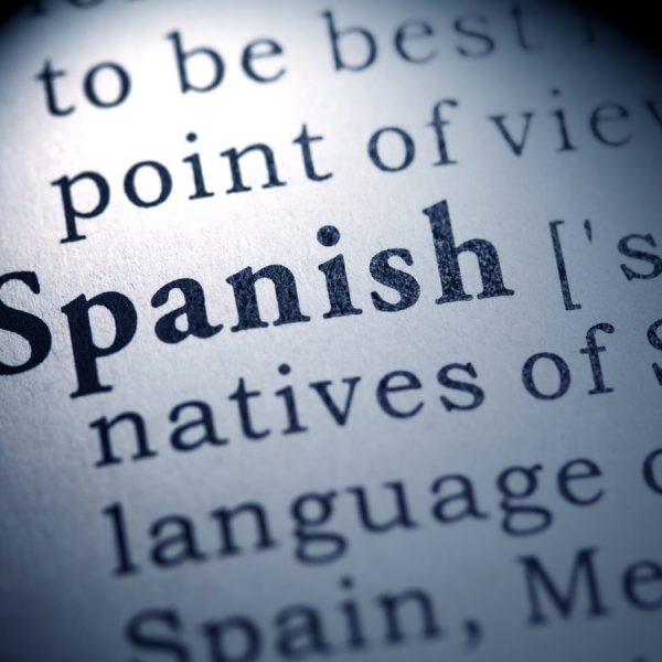 spanish glossary